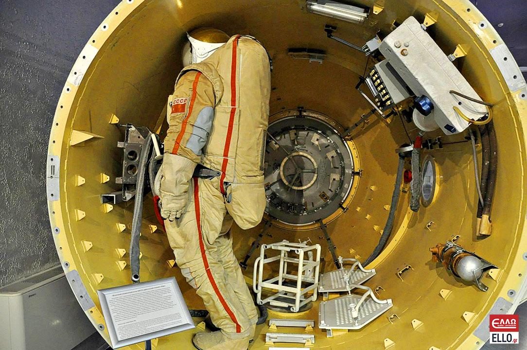 Μουσείο Μνήμης της Κοσμοναυτικής | Airlock of the station Mir
