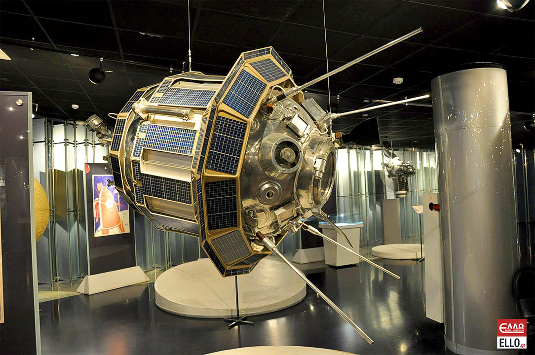 Μουσείο Μνήμης της Κοσμοναυτικής | Luna-3 station