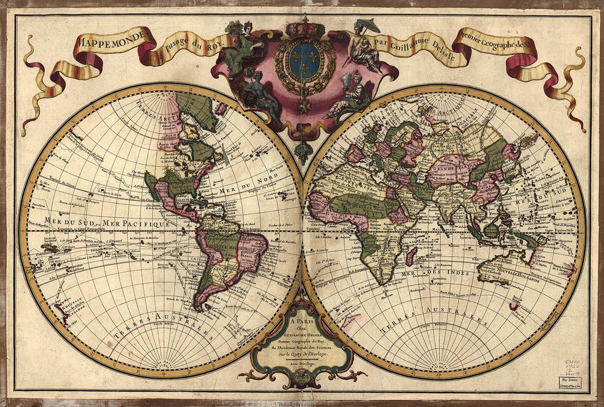 Συλλεκτικοί χάρτες - World[1720]