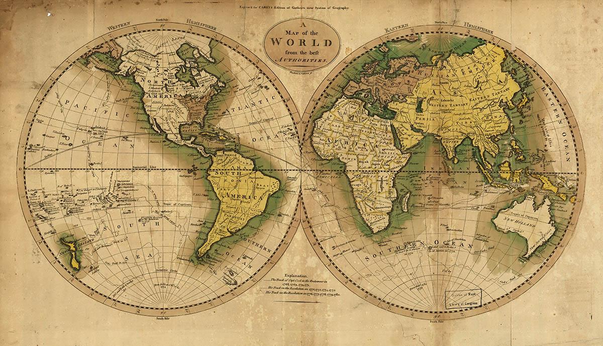 Συλλεκτικοί χάρτες - World[1795]
