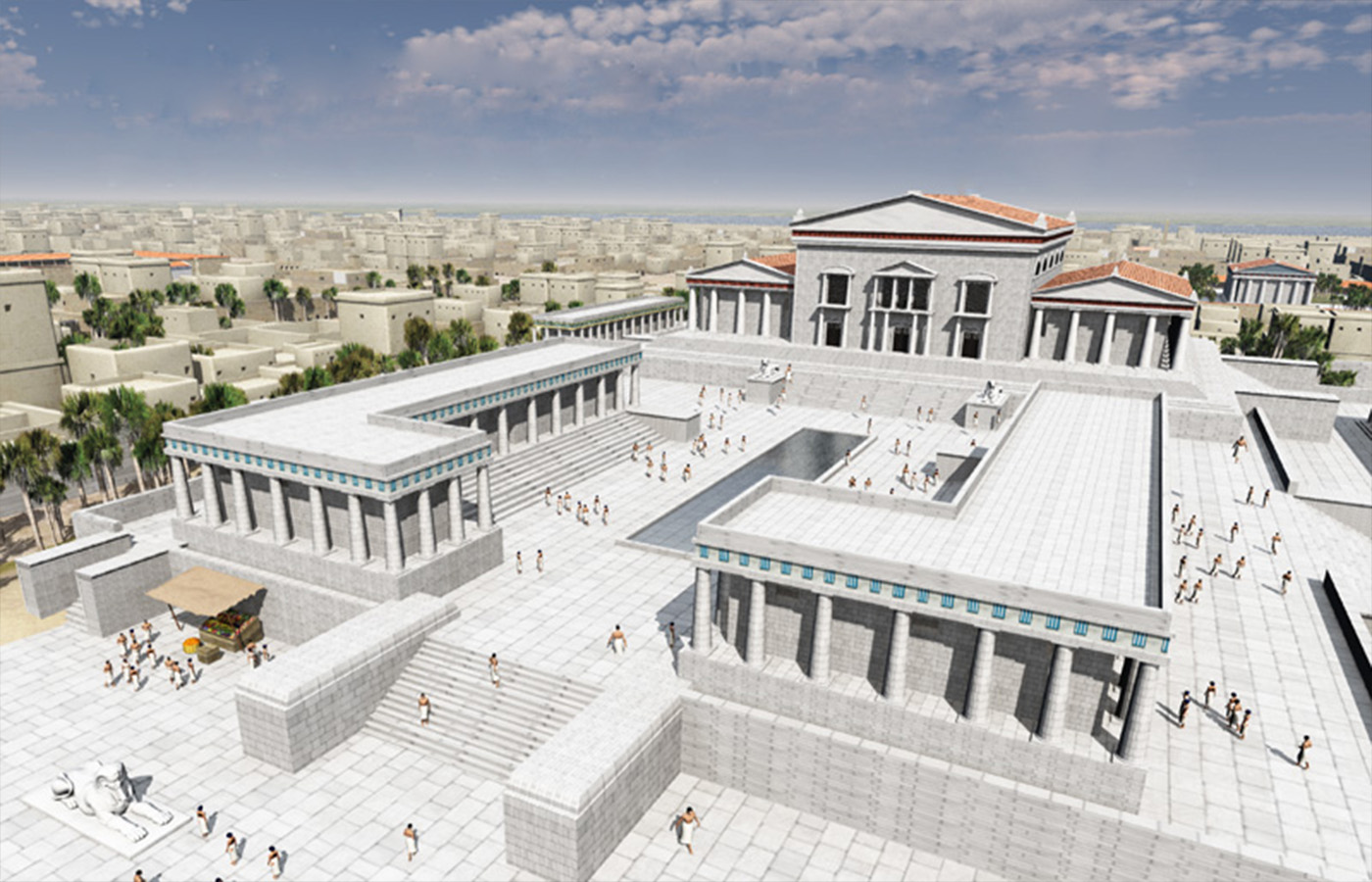Η βιβλιοθήκη της Αλεξάνδρειας